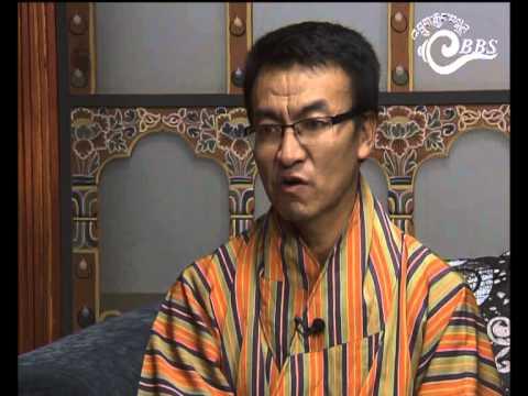 Dawai Kudroen with Lekey Dorji, MP, Zhemgang