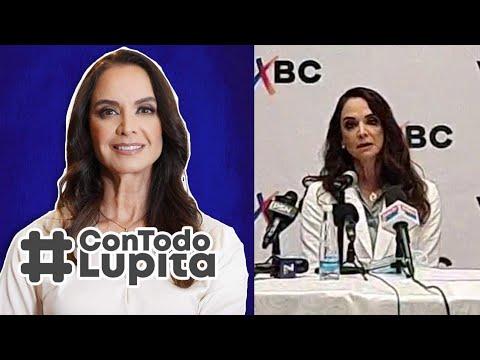 LUPITA JONES la primera MISS UNIVERSO mexicana ya fue presentada como candidata a la gubernatura