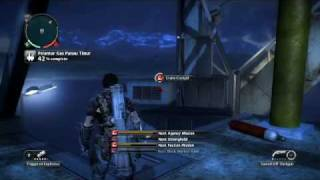 Just Cause 2- settlement completion- Pelantar Gas Panau Timur oil rig