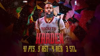 Durant and Westbrook Duel James Harden in Houston