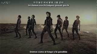 100% (백퍼센트) - 나쁜놈 (Bad boy) [Sub español + Hangul + Rom] + MP3 Download