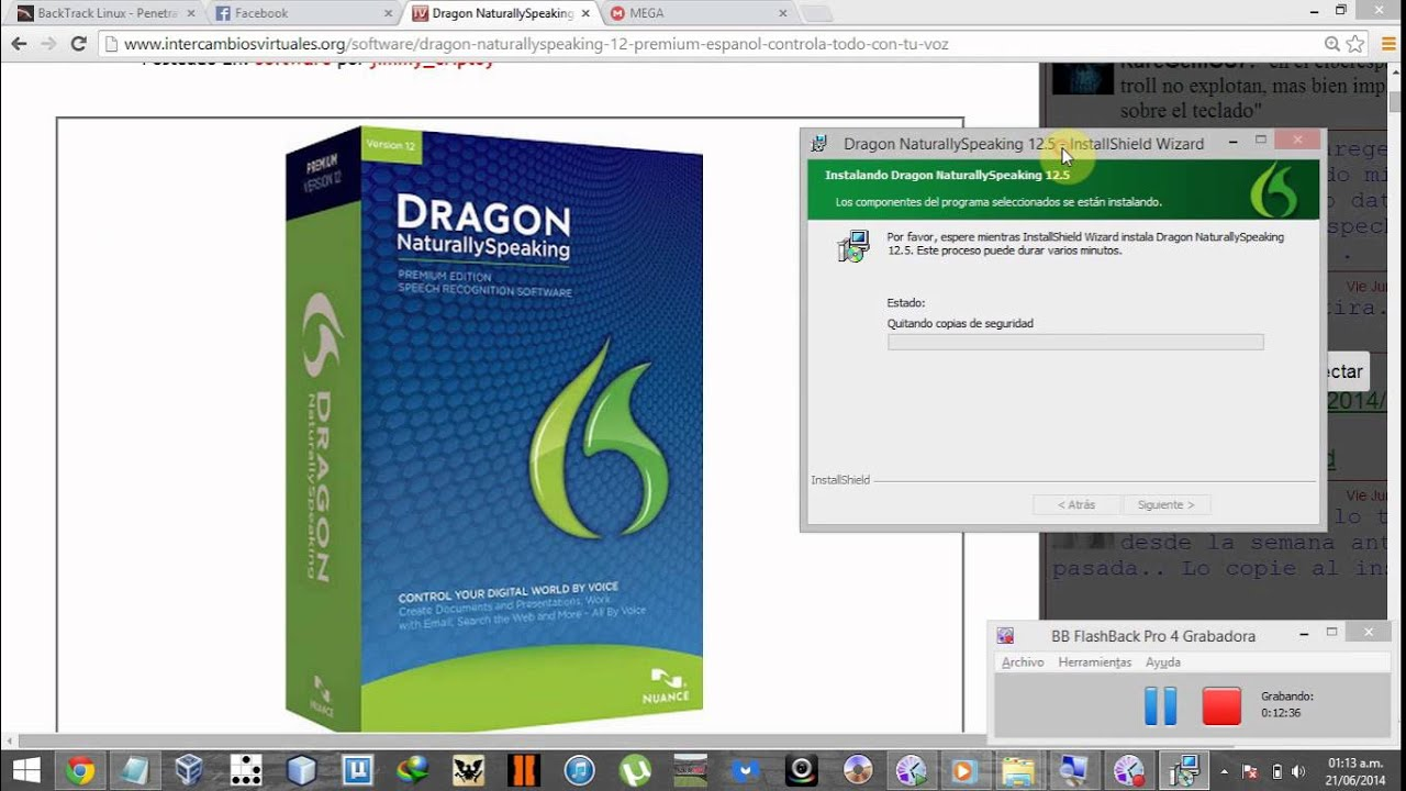 how to uninstall dragon naturally speaking 11.5