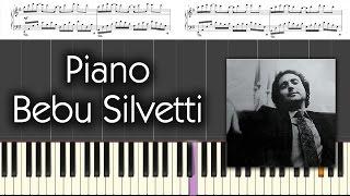 piano bebu silvetti original 50 100 sheet music