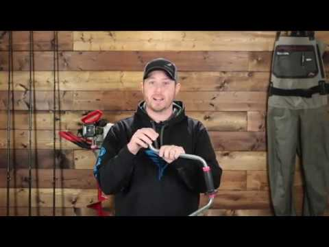 How & Where To Drill Holes For Ice Fishing Rainbow Trout