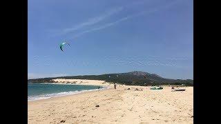 Vier-Länder-Camping: die siebente Etappe - Camping Valdevaqueros bei Tarifa am Mittelmeer in Spanien