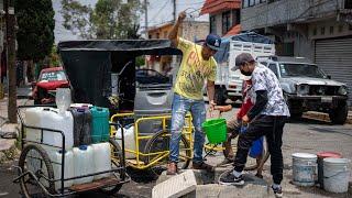 La odisea de conseguir agua en Ecatepec