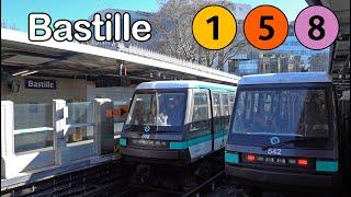 Paris Metro - Bastille