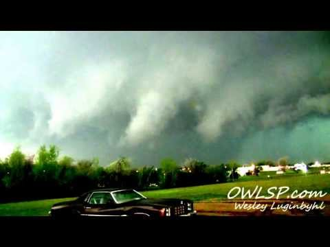 Lawton,OK Tornado Timelapse April 17,2013