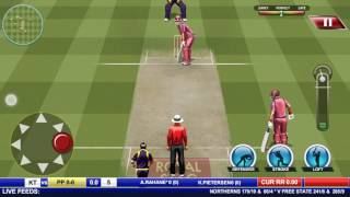Real Cricket Premier league 2017 gameplay on Android.