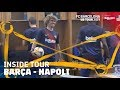 BEHIND THE SCENES AT BARÇA - NAPOLI (2-1)   Inside Tour USA 2019 #3