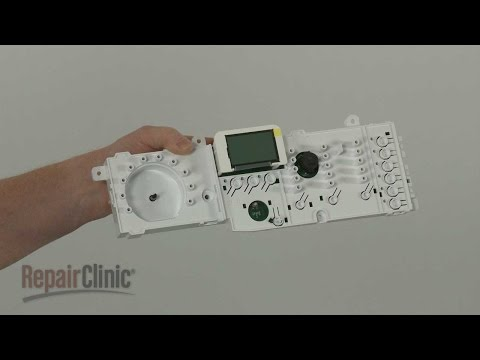 User Control Board - Electrolux Electric Dryer