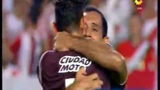 Lanus 3 River 0 (Relato Sebastian Vignolo) Supercopa Argentina 2017