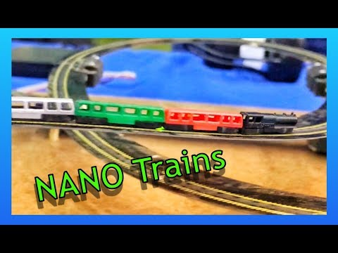 NANO TRAINS – World's Smallest Working Train 1:1000 Scale