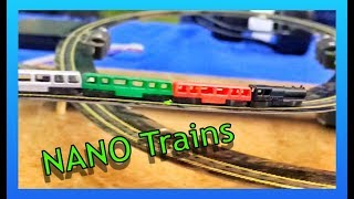 NANO TRAINS - World's Smallest Working Train 1:1000 Scale