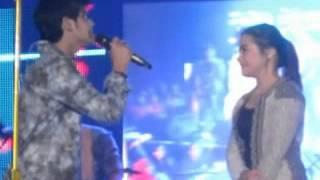 18012015 Ku Tak Bisa Jauh (Prilly Suprise) @ 1st Mini Concert Aliando
