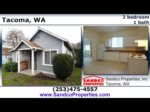 (no longer available) 2 bedroom house for rent in Tacoma, WA!  - Sandco Properties