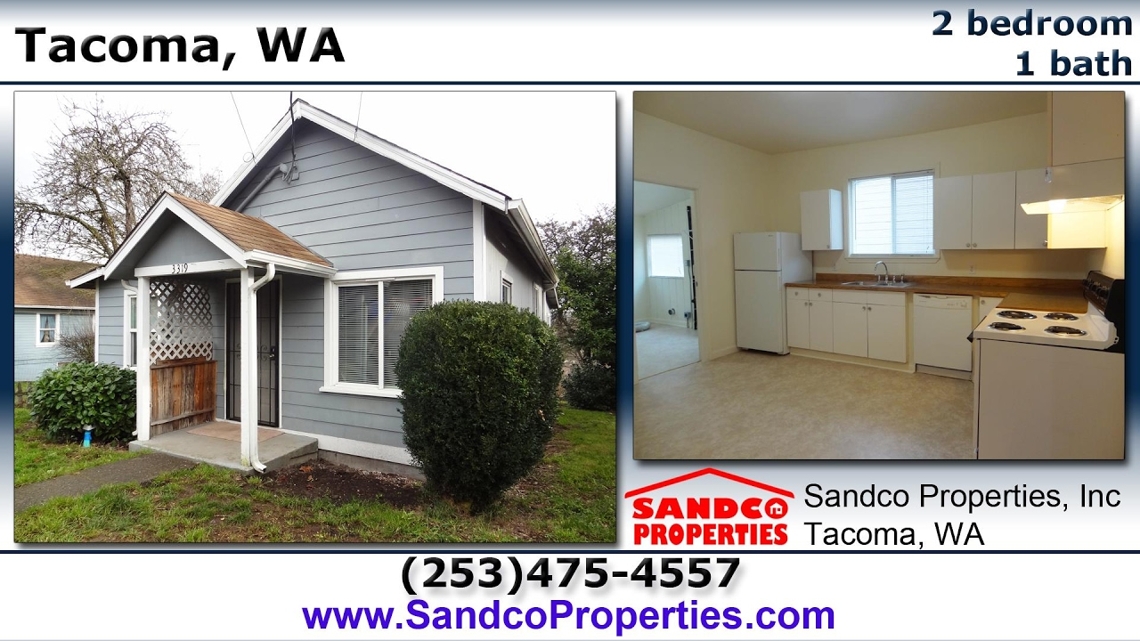 (no Longer Available) 2 Bedroom House For Rent In Tacoma, WA!   Sandco  Properties