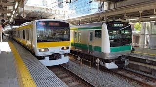 【回送】E231系 A503編成 大崎駅入線&発車 '17.05.29