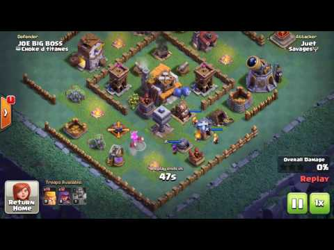 Clash of Clans | Builder Base | BH5 | GLITCH!? Take down popular BH5 bases with Raging BArch