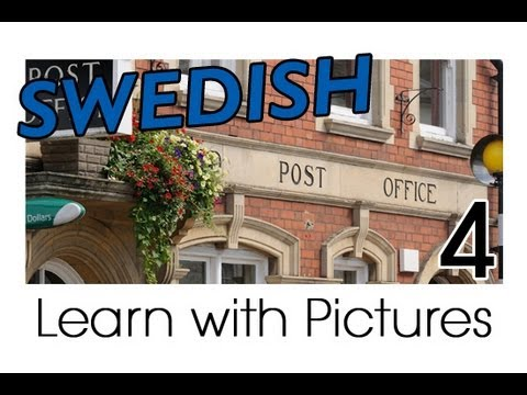 Learn Swedish Vocabulary with Pictures - In the City