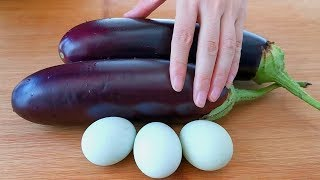 Don't fry the eggplant, add 3 eggs, you can't forget it once you eat it!