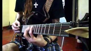 ESP LTD H-1001FR Metal Guitar Shredding