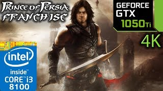 Prince Of Persia Franchise - GTX 1050 ti - 4K - 1 - 2 - 3 - 2008 - Forgotten Sands - Benchmark PC