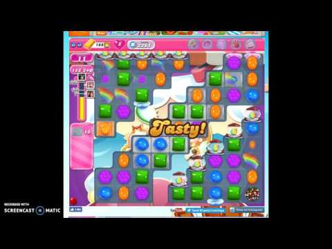 Candy Crush Level 2261 help w/audio tips, hints, tricks