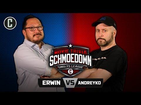 Ethan Erwin VS Marc Andreyko - Movie Trivia Schmoedown