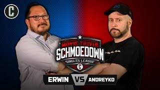 Ethan Erwin VS Marc Andreyko - Movie Trivia Schmoedown