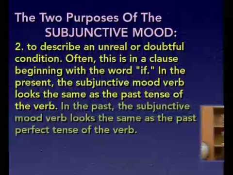 The Subjunctive Mood from BBC English Language Institute Moqam Chowk Mardan