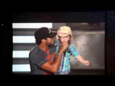 Someone Else Calling You Baby - Luke Bryan with 6 year old Kylee