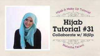 Hijab Tutorial - Natasha Farani (Collaborated with HijUp) #31