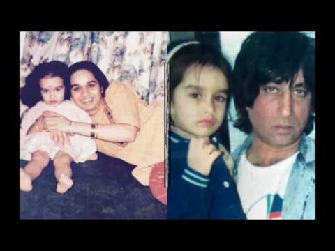 Shraddha Kapoor Childhood Photos Fimily Unseen Video