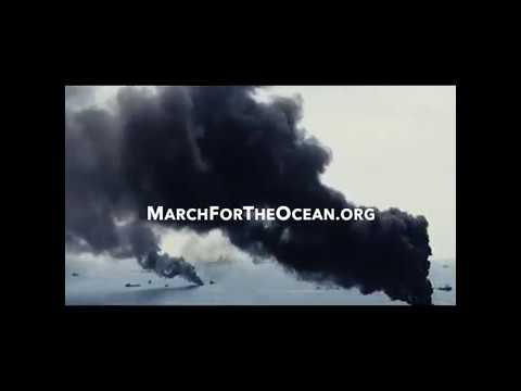 Surfrider Foundation CEO, Chad Nelson - stop offshore oil! March for the Ocean!