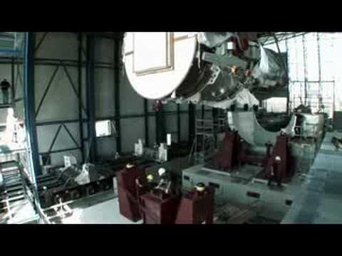Installing the largest Gas Turbine in the World