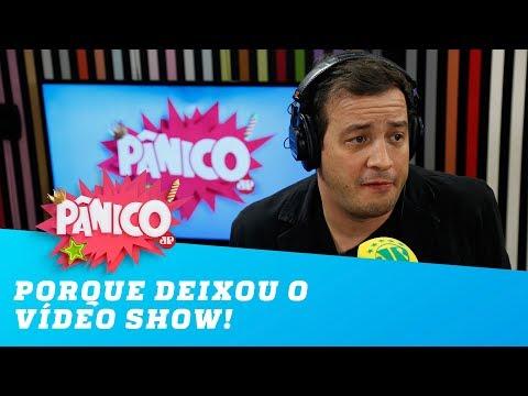 Rafael Cortez explica porque deixou o Vídeo Show!