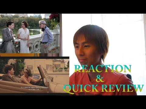 CAFE SOCIETY Official International Trailer REACTION & QUICK REVIEW