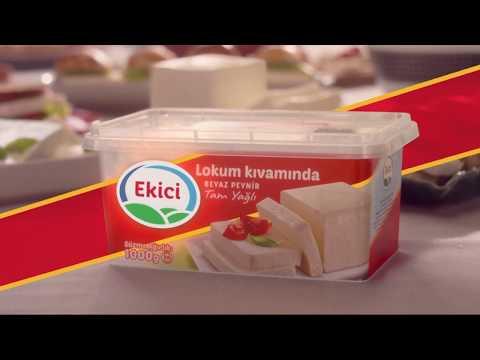 Ekici Lokum Kıvamında Beyaz Peynir Reklamı