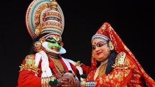 видео Танец Катхакали Kathakali - восточные танцы - индийский  Смотреть