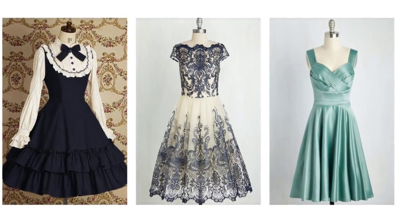Vintage Looking Cocktail Dresses