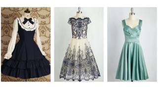 Top 100 Vintage cocktail dresses, vintage style dresses