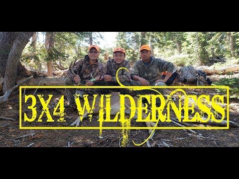 Hmong California Blacktail Deer Hunting 2018 Opening B-Zone - 4X3 WILDERNESS
