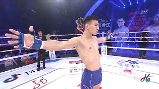 Chinese MacGregor amazed everyone! China's best fighter and future world star?