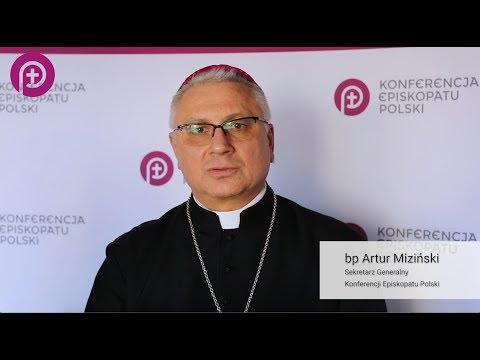 Zaproszenie na konferencję o abp. Bronisławie Dąbrowskim - bp Artur Miziński
