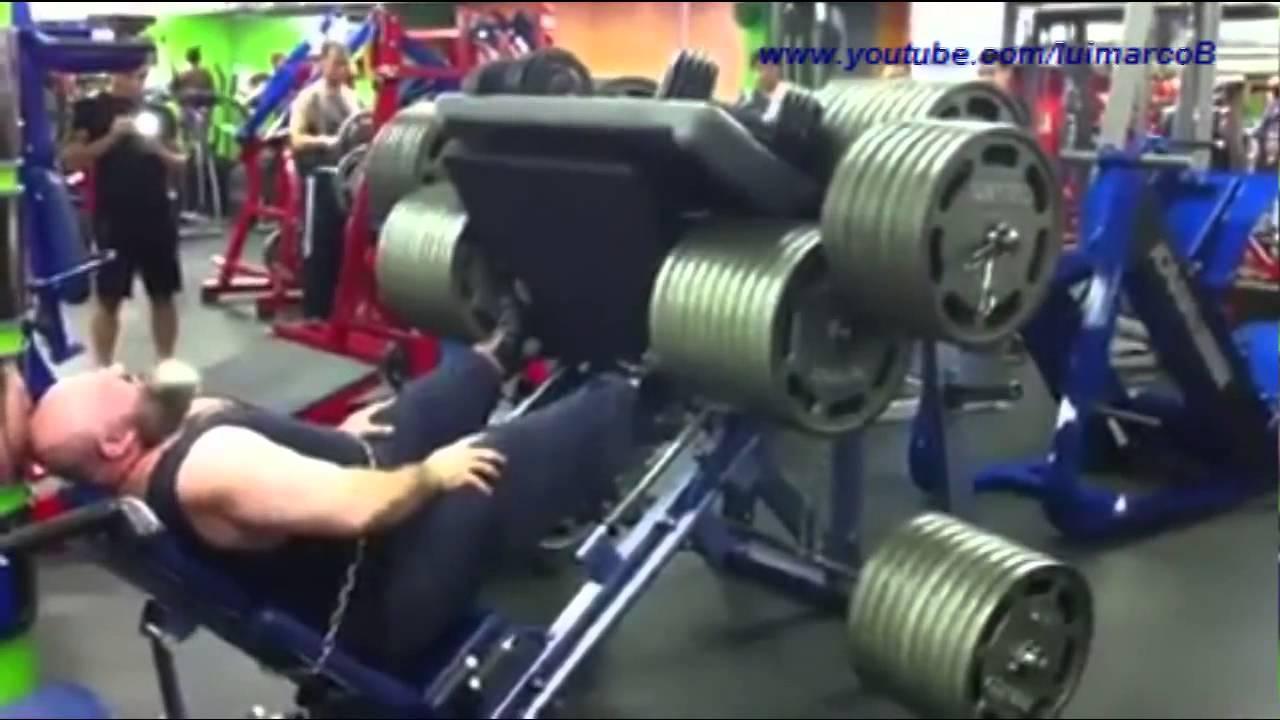how to make a leg press machine