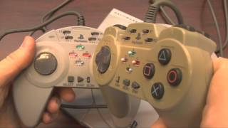 Classic Game Room - ASCII ENHANCED PAD controller review for PlayStation
