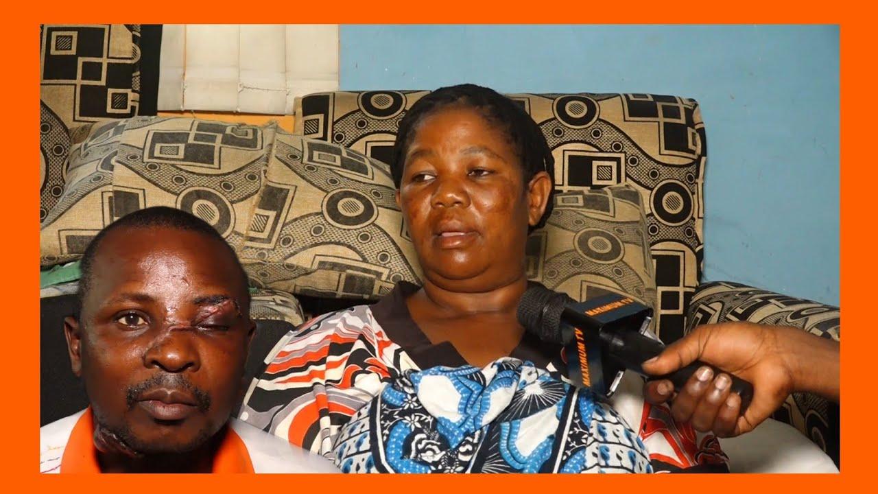 Download MUMEWANGU ALIKUA ANALALA NA KISU  HUYU NDIO MAMA ANAEDHANIWA KUMKATA MAPANGA MUMEWE