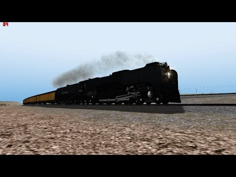 Train Simulator 2015 HD EXCLUSIVE: Union Pacific FEF-3 844 Passenger Excursion Over Sherman Hill