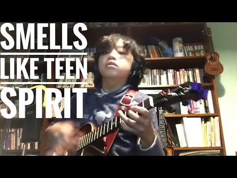 Kid Plays 'Smells Like Teen Spirit' by Nirvana on Ukulele (Awesome)